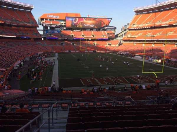 FirstEnergy Stadium, section: 145, row: 32, seat: 1