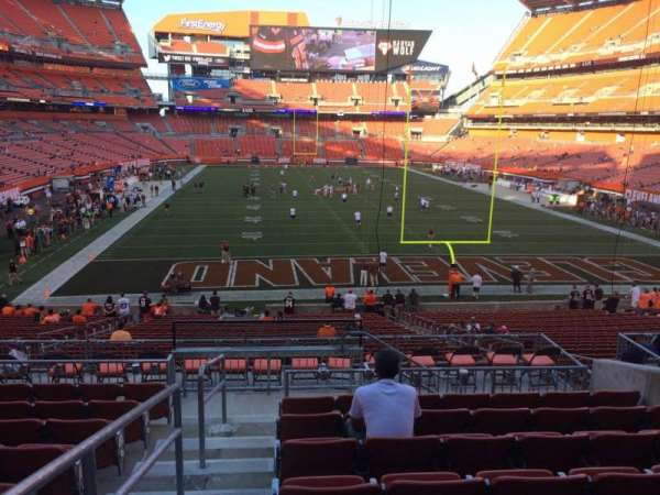 FirstEnergy Stadium, section: 146, row: 30, seat: 1