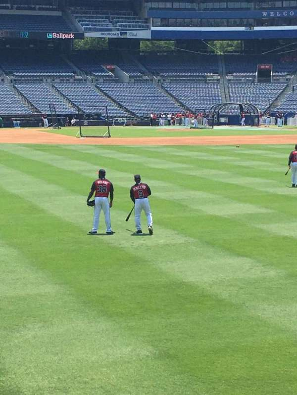 Turner Field, section: 142, row: 14, seat: 108