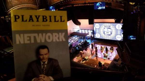 Belasco Theatre, section: Balcony R, row: D, seat: 16
