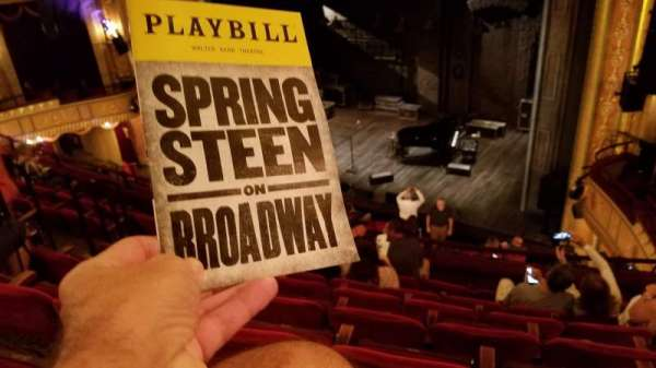 Walter Kerr Theatre, section: Mezzanine R, row: F, seat: 18