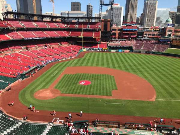 Busch Stadium, section: 344, row: 1, seat: 1