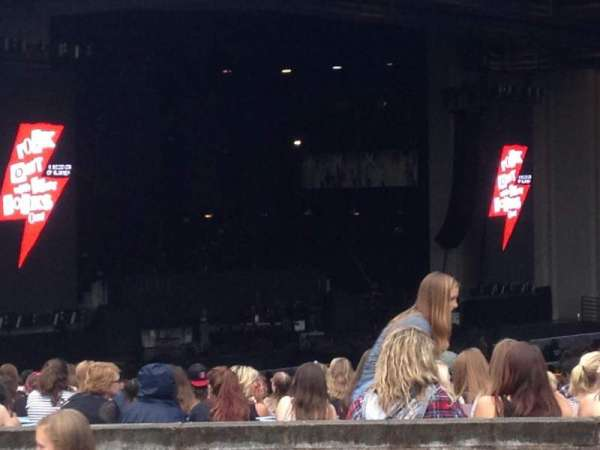 PNC Music Pavilion, section: 15, row: A, seat: 26