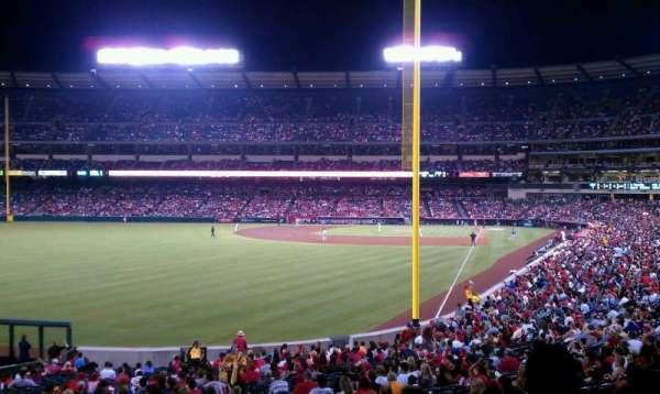 Angel Stadium, section: T201, row: F, seat: 19