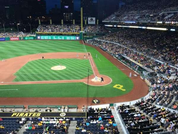 PNC Park, section: 221, row: A, seat: 5