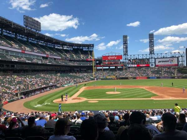 Guaranteed Rate Field, section: 127, row: 32, seat: 2
