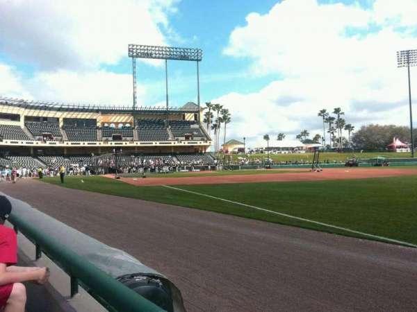 Champion Stadium, section: 103, row: 1, seat: 1