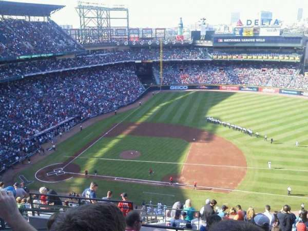Turner Field, section: 413, row: 15, seat: 4