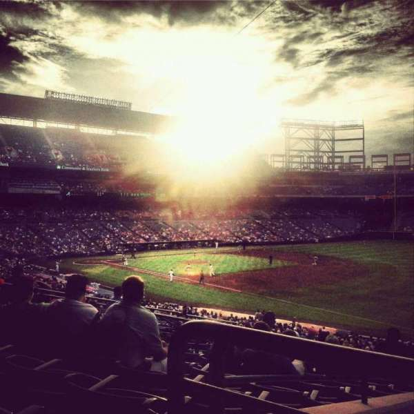 Turner Field, section: 221, row: 9, seat: 10