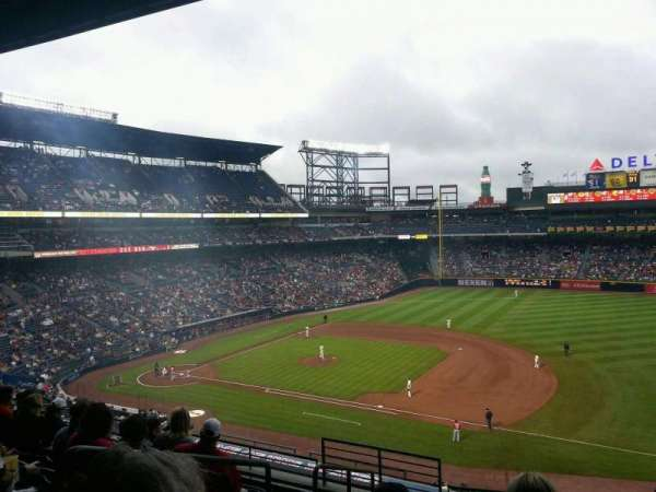 Turner Field, section: 315R, row: 8, seat: 1