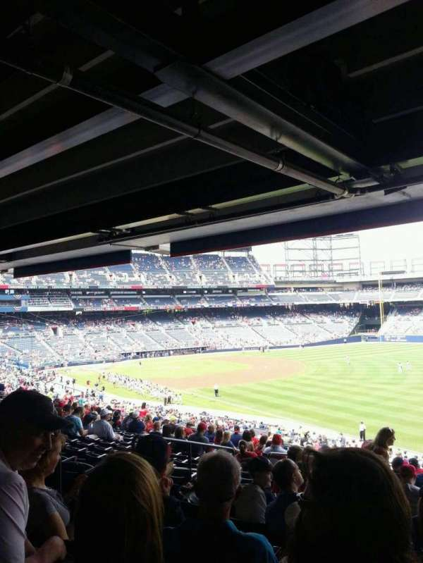 Turner Field, section: 225R, row: 16, seat: 7