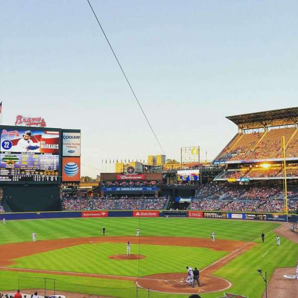 Turner Field, section: 204, row: 10, seat: 102
