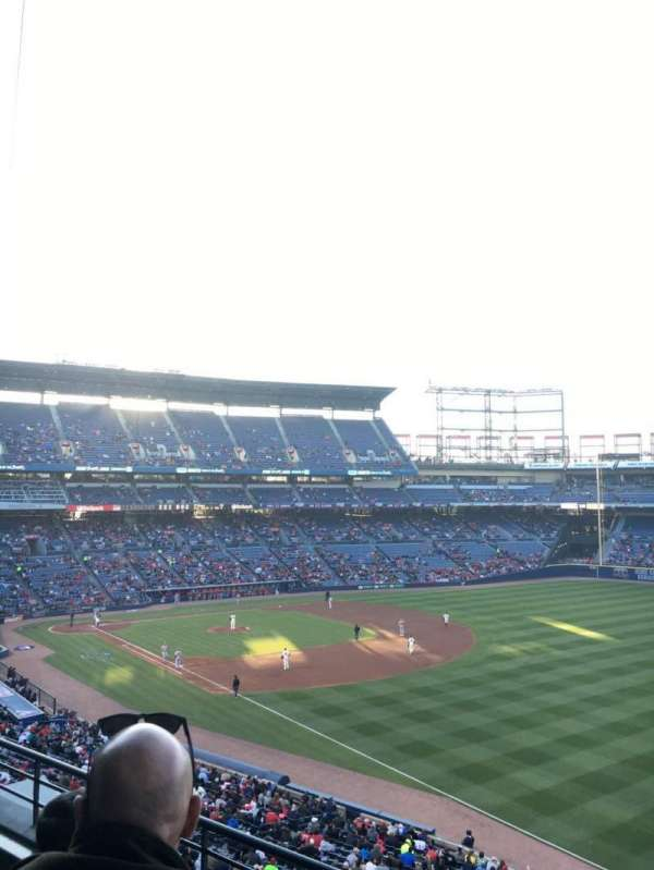 Turner Field, section: 323L, row: 3, seat: 103