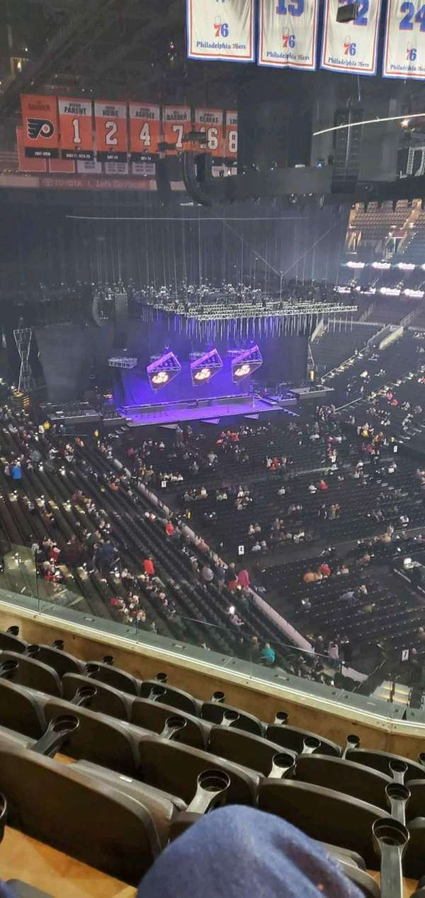 Wells Fargo Center, section: 205, row: 6, seat: 6