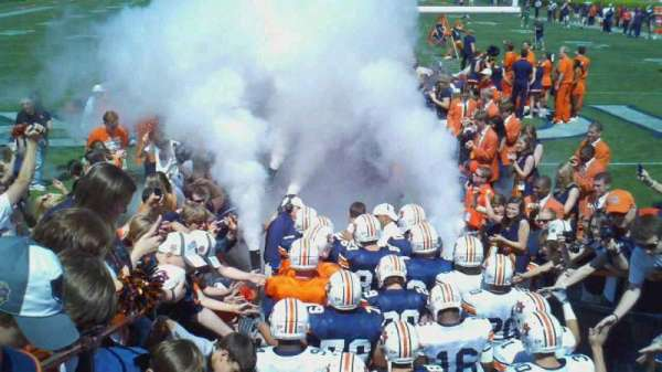 Jordan-Hare Stadium, section: 17