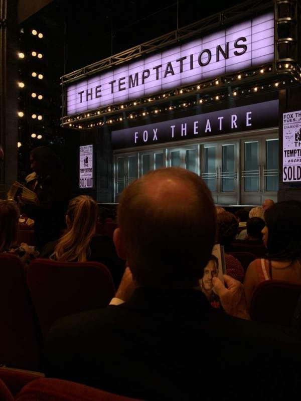 Imperial Theatre, section: Orchestra R, row: F, seat: 10