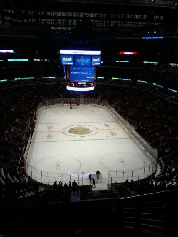United Center, section: 327, row: 9, seat: 4