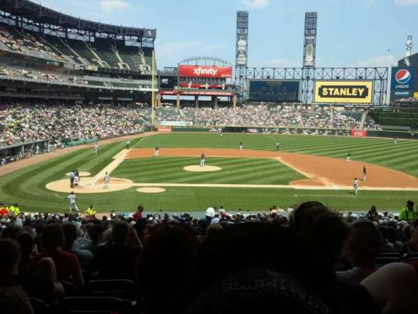 Guaranteed Rate Field, section: 127, row: 37, seat: 3