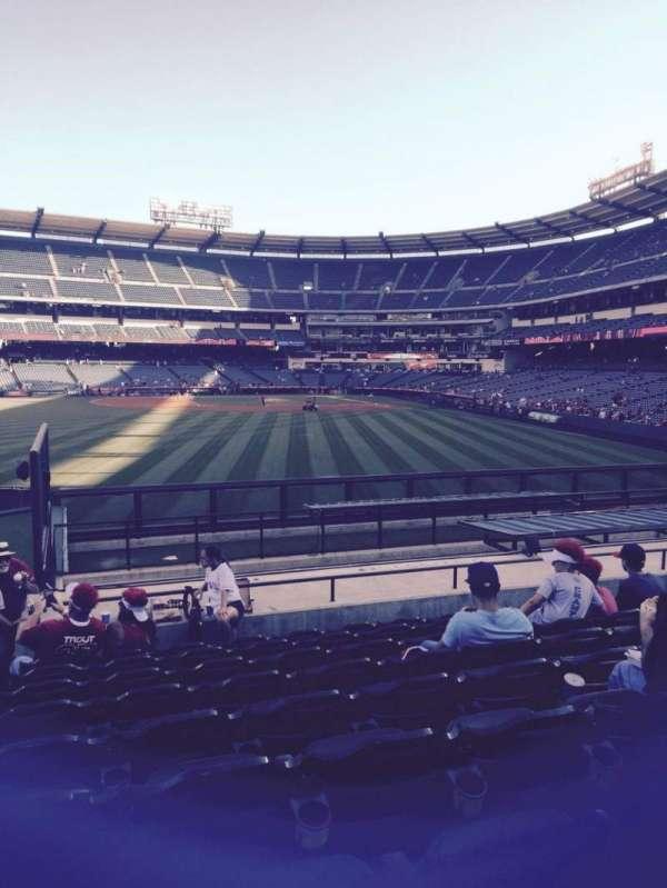 Angel Stadium, section: P258, row: r, seat: 1