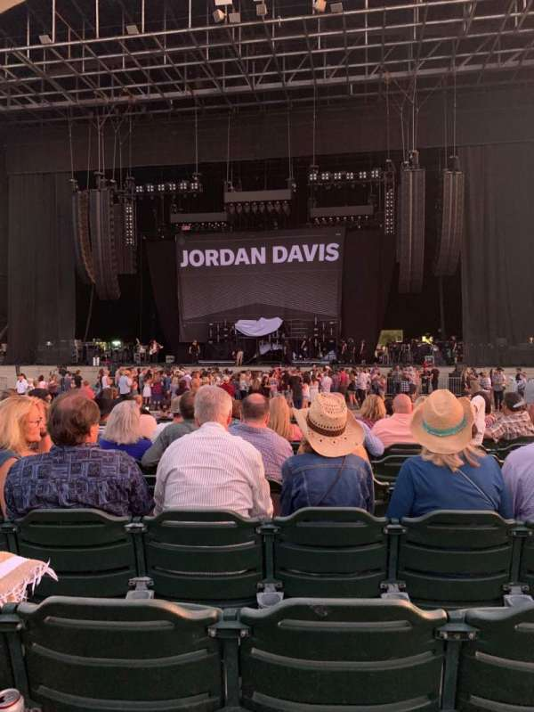 North Island Credit Union Amphitheatre, section: 102, row: M, seat: 11