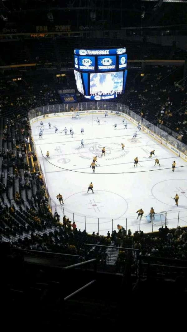 Bridgestone Arena, section: 333, row: H, seat: 13