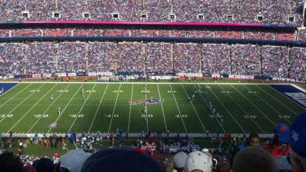 New Era Field, section: 334, row: 26, seat: 4