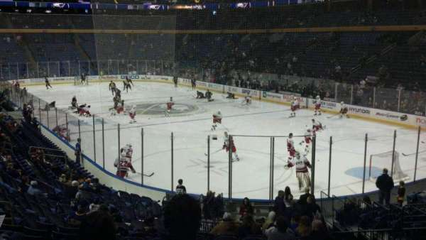 KeyBank Center, section: 113, row: 20, seat: 22