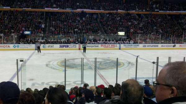 KeyBank Center, section: 117, row: 13, seat: 20