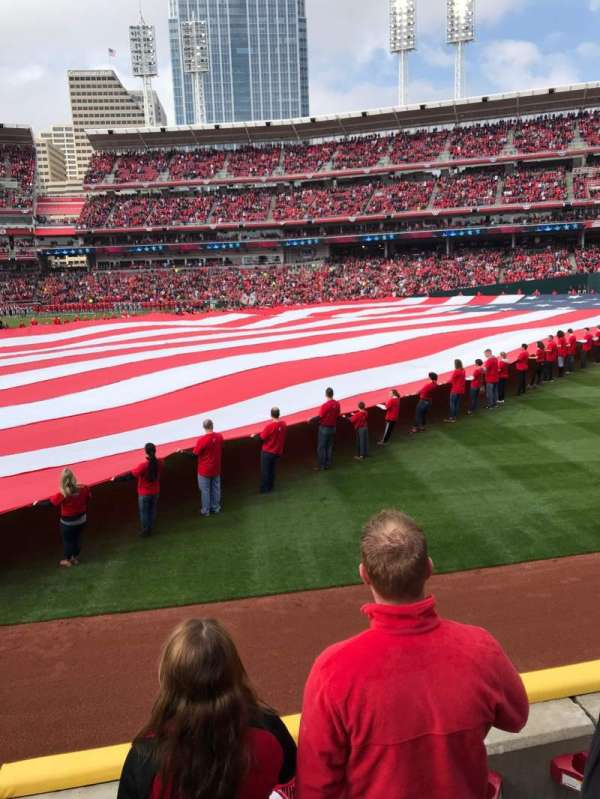 Great American Ball Park, section: 133, row: C, seat: 10