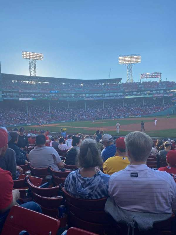 Fenway Park, section: Loge Box 102, row: EE, seat: 2