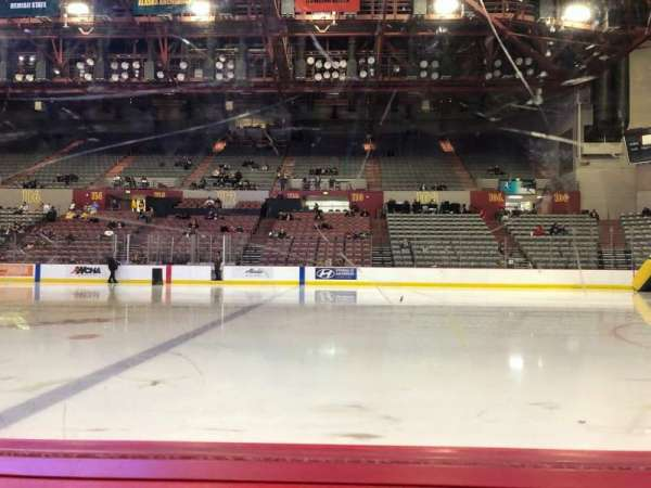 Sullivan Arena, section: 109, row: 4, seat: 3