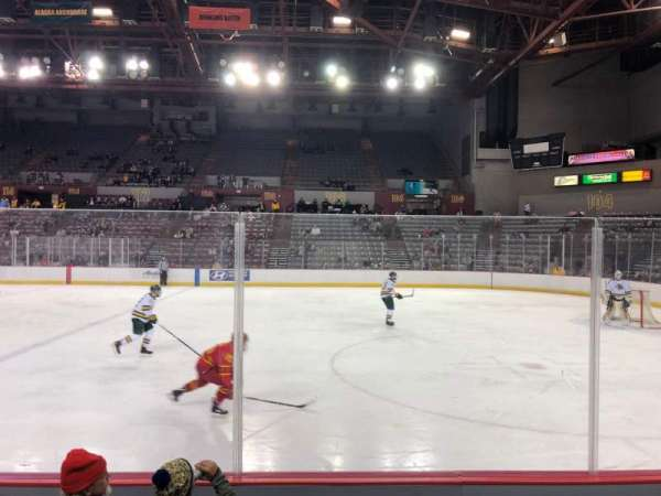 Sullivan Arena, section: 107, row: 8, seat: 10