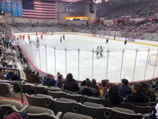 Sullivan Arena, section: 103, row: 13, seat: 9