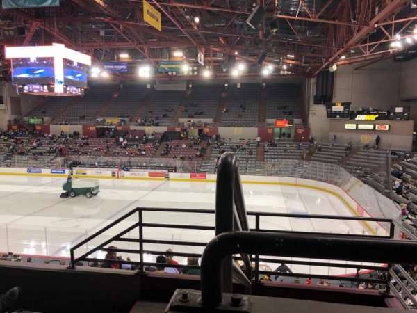 Sullivan Arena, section: 218, row: 4, seat: 12
