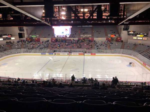 Sullivan Arena, section: 214, row: 17, seat: 5