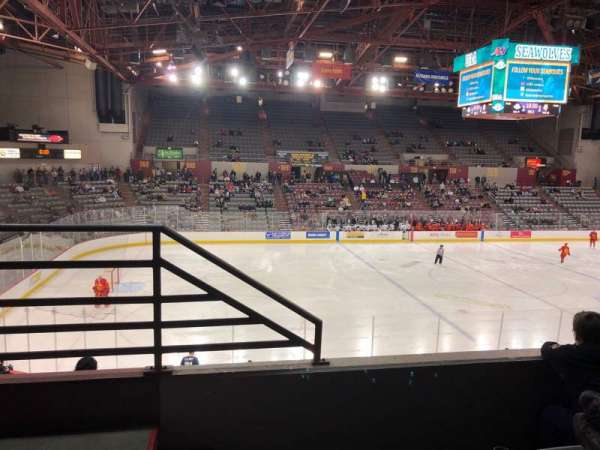 Sullivan Arena, section: 208, row: 3, seat: 13