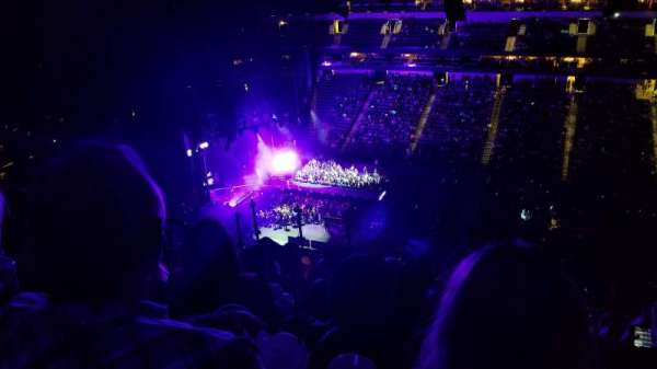 American Airlines Center, section: 325, row: M, seat: 14