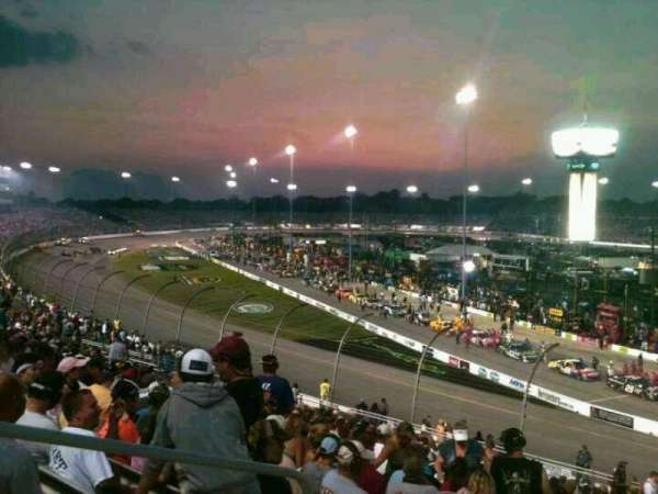 Richmond International Raceway, section: Veranda D, row: 20, seat: 3