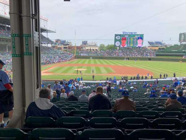 Wrigley Field, section: 223, row: 10, seat: 5