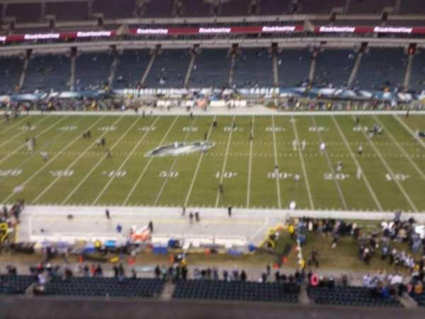 Lincoln Financial Field, section: 226, row: 1, seat: 11
