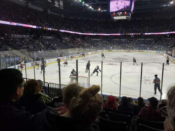 Citizens Business Bank Arena, section: 120, row: K