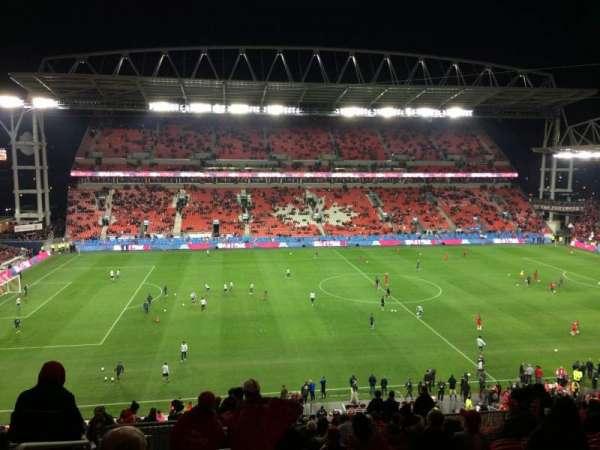 BMO Field, section: 224, row: 18, seat: 28