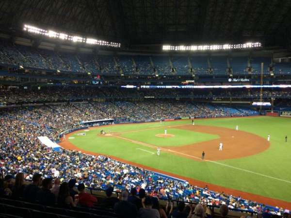 Rogers Centre, section: 214L, row: 9, seat: 104