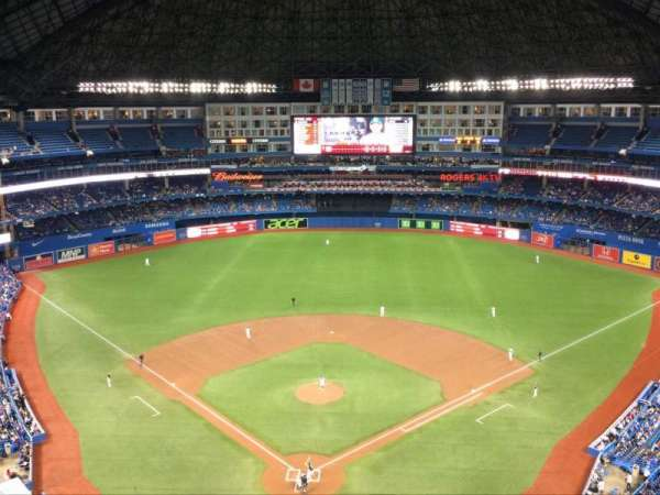 Rogers Centre, section: 524, row: 21, seat: 1