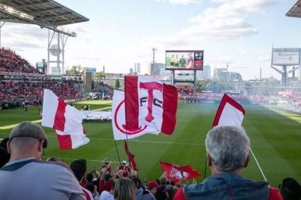 BMO Field, section: 114, row: 17, seat: 13