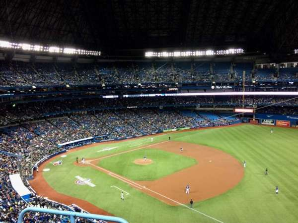 Rogers Centre, section: 514R, row: 3, seat: 2