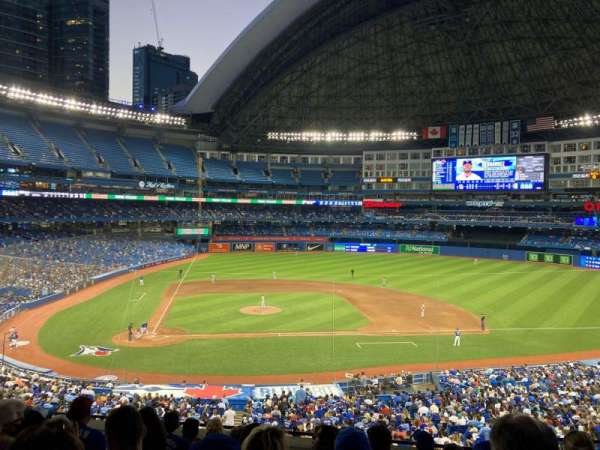 Rogers Centre, section: 220L, row: 8, seat: 105