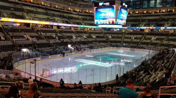 SAP Center at San Jose, section: 120, row: 23, seat: 7