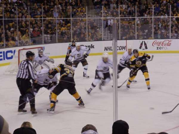 TD Garden, section: Loge 13, row: 7, seat: 17