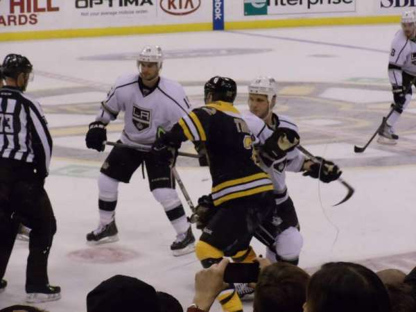 TD Garden, section: Loge 13, row: 7, seat: 16